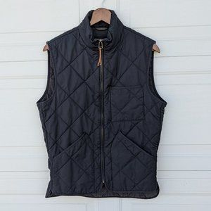 J. Crew Sussex Quilted Vest Insulated Outerwear  S